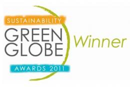 Winner of 2011 NSW Green Globe Business Sustainability Award