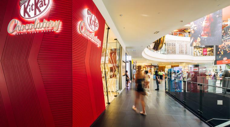 The KitKat Chocolatory at Melbourne Central
